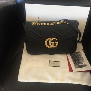 Gucci Marmont GG Bag Authentic